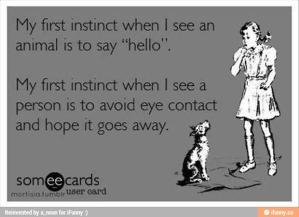 introvert meem