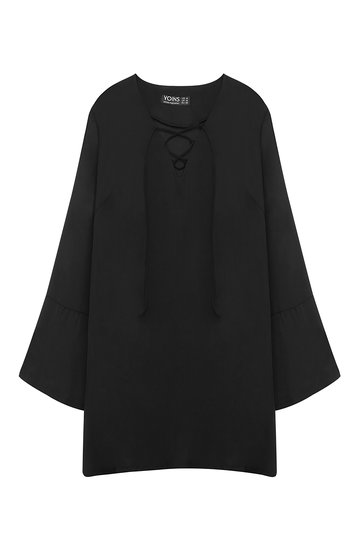yoins-black-tunic